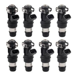 8pcs 42lb 440cc Fuel Injectors For Gm Marine 8 1l Truck 2001 2002 2003 2004