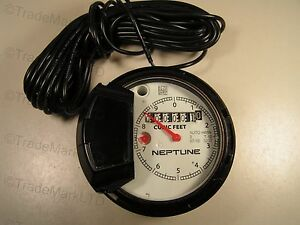 Neptune Register 2 T 10 For Water Meter Cubic Feet Auto H65n New