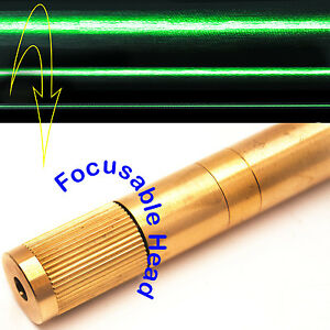 Focusable 532nm 50mw Green Laser Line Module adjustable Beam Size green Laser