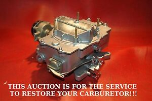 1958 67 Your Ford Motorcraft 4100 Series 4 Barrel Carburetor Custom Restored