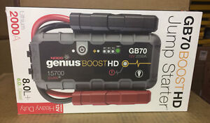 Noco Genius Boost Gb70 Hd 2000 Amp 12v Ultrasafe Lithium Jump Starter