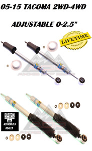 Bilstein Adjustable Front Rear 5100 Shocks For 05 15 Toyota Tacoma 2wd 4wd