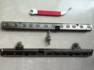 1set Quick Action Plate Clamp Gto 46 For Heidelberg Gto 46 Offset Printing Press