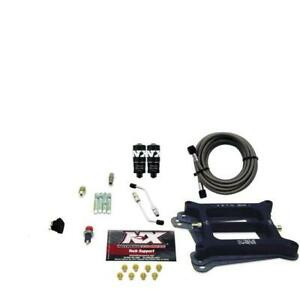 Nitrous Express 40040 00 4150 4 Bbl Hitman Plate System 100 200hp No Bottle