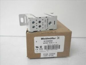 1879360000 Wpdb 70 35 1 4 Weidmuller Din Rail Power Distributor Block new
