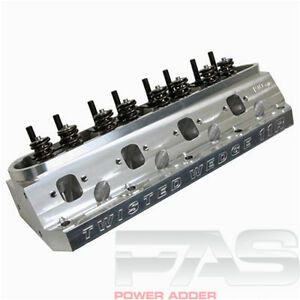 1987 1995 Mustang Trick Flow Twisted Wedge 11r 205 Cylinder Head 56cccnc Single