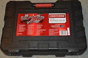 Craftsman 933137 137pc Mechanics Tool Set New In Box
