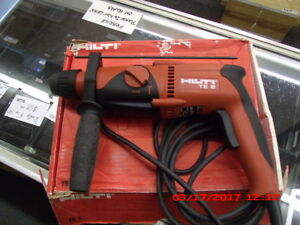 Hilti Te 2 Corded Rotary Hammer Drill Very Good Condition