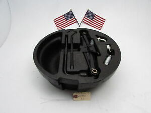 04 05 06 07 08 Acura Tl Spare Tire Wheel Cover Holder Carrier With Tools Oem