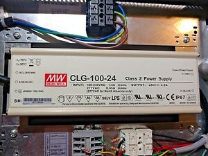 New Meanwell Clg 100 24 dlu Dimmable Led Driver 96w 4a 24v Ac dc mounting Box
