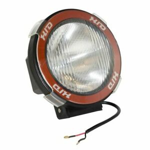 Rugged Ridge 5 In Round Hid Offroad Light Blk Composite Housing 15205 04