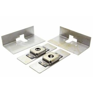 Autoloc Small Bear Claw Door Latch Install Kit Autbcinsts