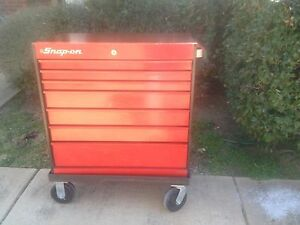 Red Snap On Toolboxes