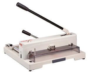 Guillotine 14 5 Heavy Duty Manual Paper Trimmer Table Top Cutter Kwtrio 3943