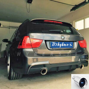 4 Round Exhaust Tip Angle Cut Tailpipe For Bmw 335 M3 E90 E92 F30