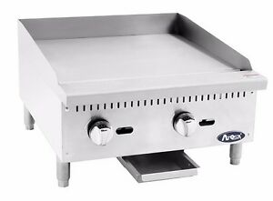 Atosa Atmg 24 Commercial 24 Manual Griddle Plancha gas