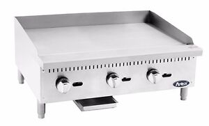 Atosa Atmg 36 Commercial 36 Manual Griddle Plancha gas