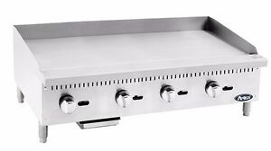 Atosa Atmg 48 Commercial 48 Manual Griddle Plancha gas