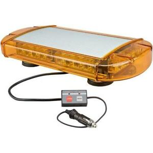 Wolo 3770m a Outer Limits Gen 3 Led Emergency Warning Mini Light Bar amber Lens