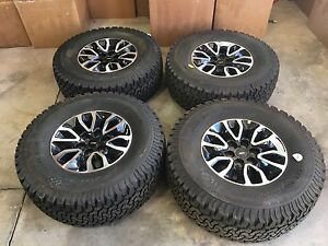 17 Inch Ford Raptor Wheels And Tires Set Of 4 Never Used Spares Now A Set