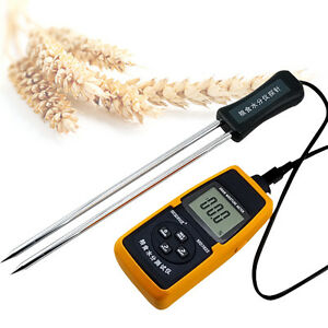 Moisture Tester Probe For Food Rice Corn Wheat Grain Moisture Temperature