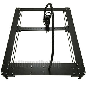 30x40cm 5 5w 5500mw Laser Engraver Metal Body Wood Bamboo Plastic Leather Print