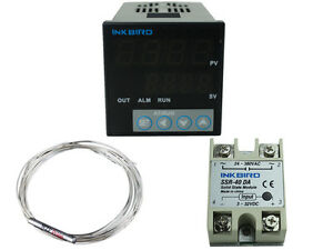 Itc 106vh Digital Pid Temperature Controller Thermostat Fahrenheit Pt100 40ssr