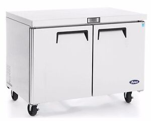 Atosa Mgf8402 Commercial 48 Undercounter Refrigerator
