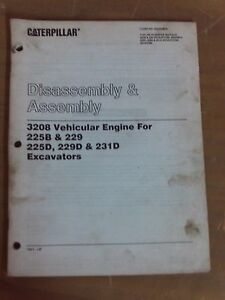 Cat Caterpillar Disassembly Assembly 3208 Vehicular Engine 1j 1011 b11