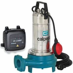 Submersible Grinder Pump Gqgm Waste Water Calpeda Gqg6 18m 0 9kw 1 2hp 230v Z2