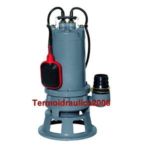 Cutting Submersible Pump Sewage Water Grinder 100 15m g 0 75kw 1hp 230v Comex Z2