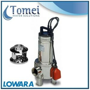 Submersible Sewage Dirty Water Pump Domo15 1 1kw 1x230 Float Switch Lowara Z2
