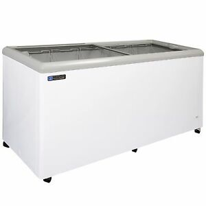 Master bilt Msf 71a Ice Cream Glass Top Display Freezer For Paleteria Neveria
