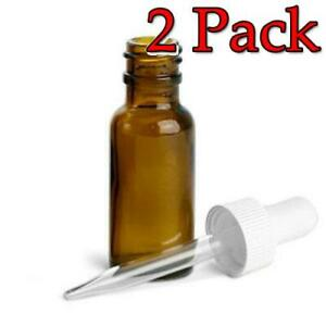 Kerr Amber Glass Dropper Bottle 1oz 12ct 2 Pack 070610234010s2987