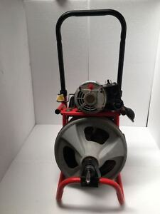 Ridgid Kollmann K 400 Drum Machine Drain Cleaning Machine 115v free Shipping