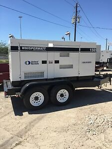 2010 Multiquip Dca150 Portable Diesel Generator 120kw Low Hours Load Tested