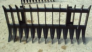 72 Heavy Duty Root Brush Rock Rake For John Deere Tractors