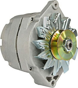 New 1 wire Generator Conversion Alternator With 3 4 inch wide Single Pulley