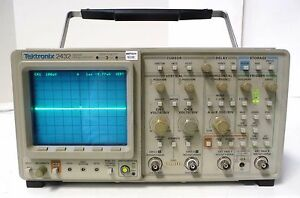 Tektronix 2432 Digital Storage Oscilloscope 300 Mhz 2 Channels
