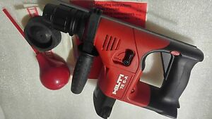 Hilti Te 6 a 36v Nicd Cordless Rotary Hammer Drill New Others