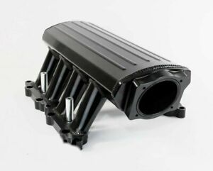 A team Ford 302 Efi Fabricated Intake Manifold 11 14 Ford 5 0l Coyote Black
