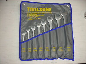 New Whitworth Combination end Wrench Set 7 piece 1 8 Through 1 2w