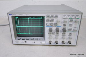 Hp 54601a Oscilloscope 4 Channel 100 Mhz