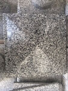 Natural Stone Granite Pyramid Sesame White 14 x14