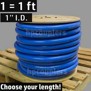 1 Id Flexfab 5526 Blue Silicone Heater Hose 25mm 350f Radiator Coolant 1 00