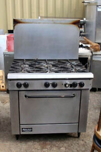 6 Burner Range Stove With Oven By Superior Gas