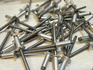 1000 Pop Made In Usa Aluminum Steel 5 32 X 1 4 Blind Rivet Ad54bs Ships Free