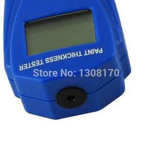 Thickness Tester Car Mini Digital Gauge Paint Coating Lcd Meter Painting Crash