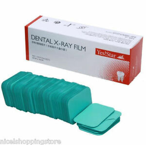 2 Boxes Dental X ray Film Size 3cm 4cm For Reader Scanner Machine 100 Pcs box