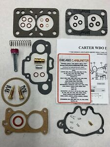 1940 41 Supercharged Graham Hollywood carb Kit Carter Wdo 2 Barrel 488s Eth Tol